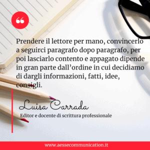 Luisa Carrada, Struttura & Sintassi, Zanichelli