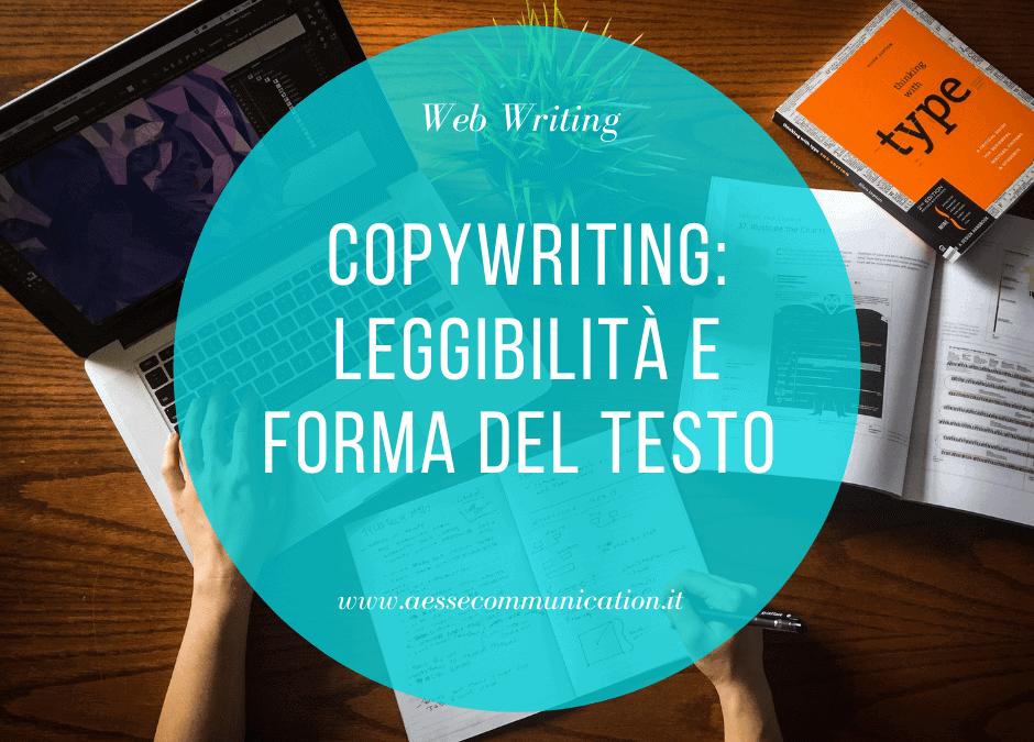 Leggibilità e forma del testo sul web