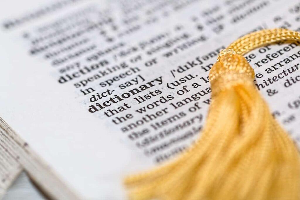 copywriting vocabolario